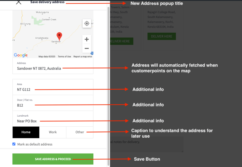 WooCommerce Delivery location plugin working