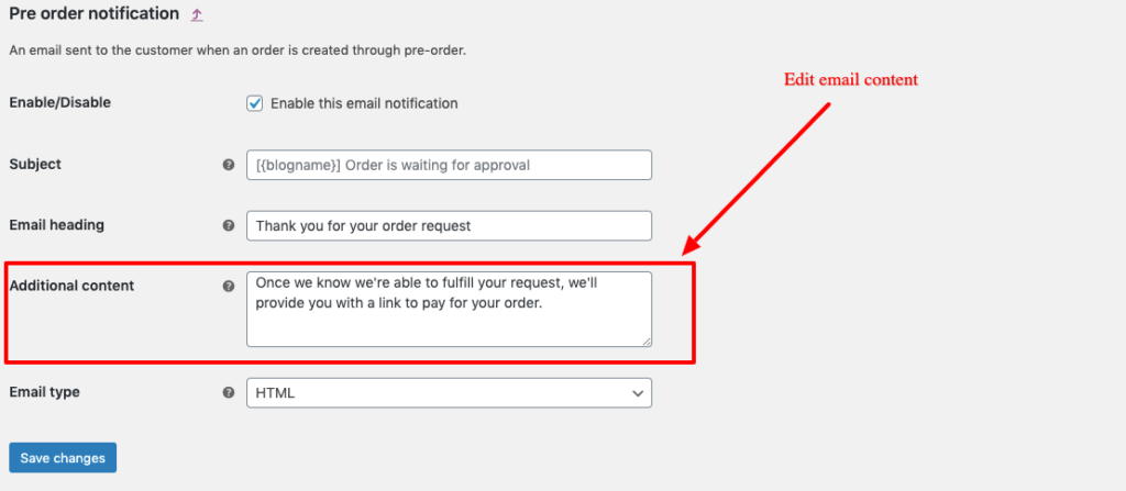 manage email content
